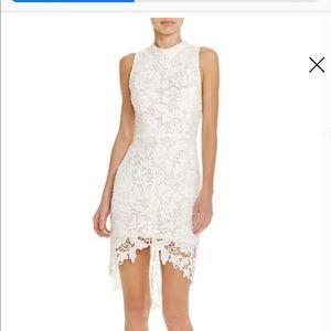 Astr the Label Samantha White Lace Dress - New!